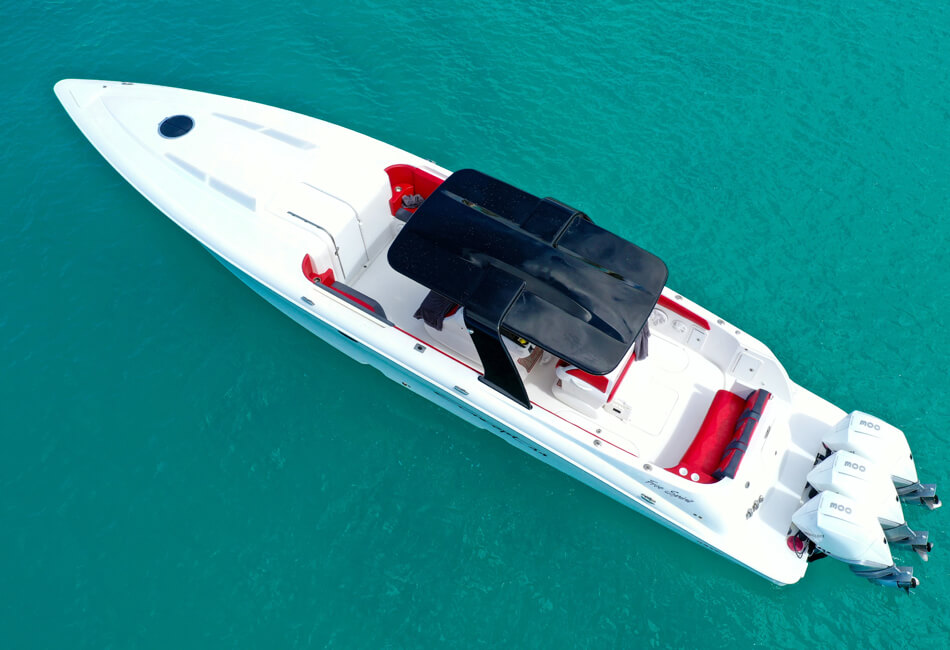 44 ft Concept Speedboat